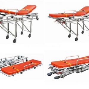 Aluminum alloy folding stretcher hospital ambulance