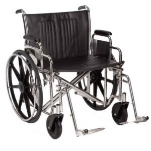 Extra wide bariatric wheel chair Amaris medical solutions