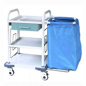medical laundary trolley amaris medical solutions