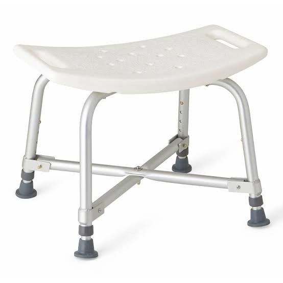 shower stool with no back rest