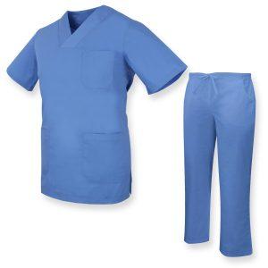 uniforms-unisex-scrub-set-medical-uniform-with-scrub-top-and-pants amaris medical