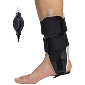 Air ankle stirrup brace with air pump amaris medical
