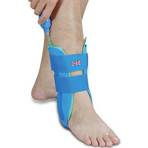 Air ankle stirrup brace with air pump amaris medical solutions