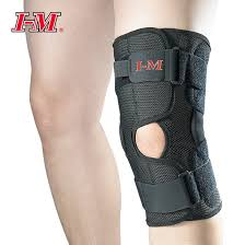 Airmesh knee brace with dual pivot hinge amaris medical solutions