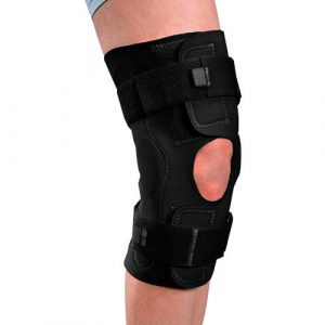 Airmesh knee brace with light hinge amaris medical solutions