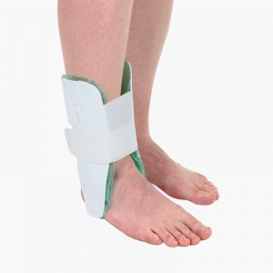 Ankle stirrup brace gel pad amaris medical solutions