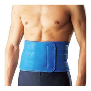 Blue Neoprene back support amaris medical solutions