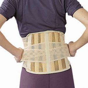 Deluxe Lumbar support with 6 stays amaris medical solutions