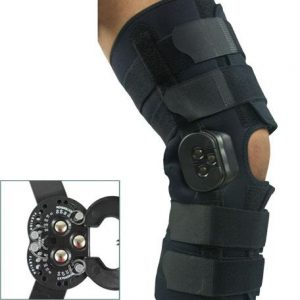 Knee brace with ROM hinge amaris medical solutions
