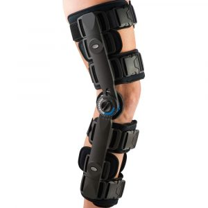 knee ligament with rom hinge amaris medical solutions