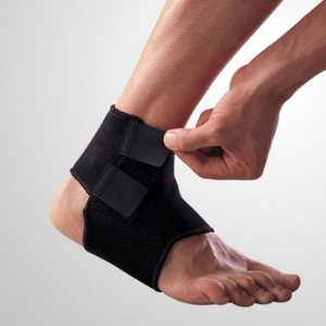 Neoprene adjustable ankle support amaris medical solutions