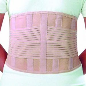 Sacral lumbar support with 4 stays amaris medical solutions