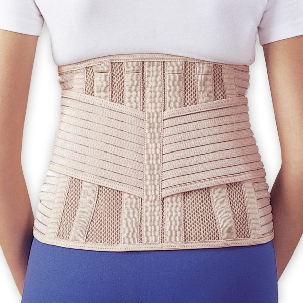 Velcro free far infrared back support with 6 stays amaris medical solutions