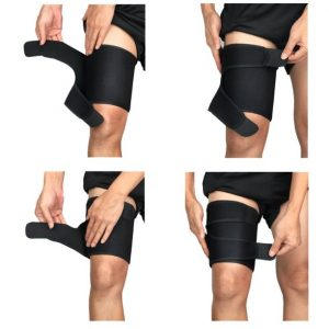 adjustable thigh brace support amaris medical solutions