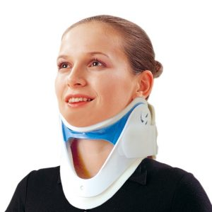 cervicle orthotic with 5 neck height adjustment amaris medical solutions