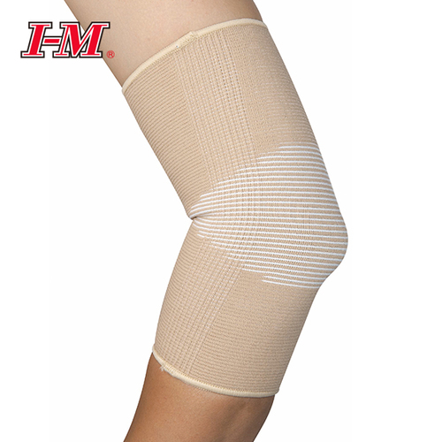 elastic knee support with silicone antislip amaris medical solutions
